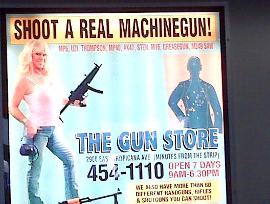 Ad at Las Vegas Airport Carrousel 2